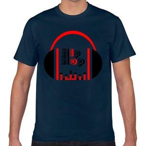Tops T-Shirt Männer Hip-Hop-Kopfhörer Sexy Harajuku Geek Cotton männlich T-Shirt XXX