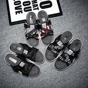 Price Mens Slippers Indoor Shoes Patchwork Red Black Camouflages Slides Trendy Style Hausschuhe 2020 Size 39-44 SX004