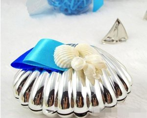 Sea Shell Candy Boxes Beach Theme Candy Favors Wedding Party baby shower Favors gifts Candy Package New Wedding Favors holders