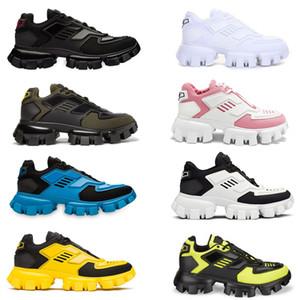 Hombres Mujeres Cloudbust trueno zapatillas 3D tejido técnico con cordones de zapatos de plataforma Formadores Ligera zapatilla de deporte al aire libre aumento de la altura