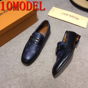 Men Loafers evening Smoking prom Party Shoes assorted colorRed Black Suede Dress Shoes wedding Leather Man Flat Handmade Casual SIZE 38-45