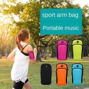Sports arm outdoor running fitness Music hand arm bag diving material waterproof wrist Handbag mobile phone mobile phone