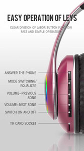 High Quality Wireless Bluetooth Headsets Professional Headphones Large Capacity Noice-cancelling Headband