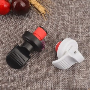 Wholesale Keep Fresh Red Wine Stoppers PP Material Bottle Champagne Vacuum Stoppers Manual Press For Home And Bar 0 85cy H1