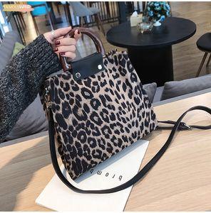 Fashion Leopard Printing Large Capacity Women Handbags Female Causal Tote Shoulder Bag Womens Bags Purses And Handbags