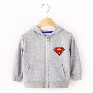 Fashion new kid clothes children's clothing baby boy hoodie baby girl clothes print spring zipper clothing
