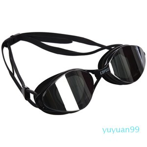 luxury- Copozz Plating Mirrored Swimming Waterproof Glasses for Adults Sport anti uv fog Protection Swim Goggles