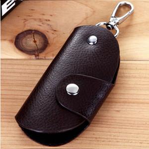 Wallets New Arrive 1Pc Fashion Men Women Leather Key Chain Accessory Pouch Bag Wallet Case Key Holder