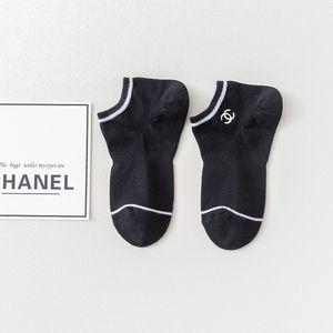 C diseñador calcetines para hombre del gato del calcetín para mujer 5 pares de calcetines de punto diseñador de ropa interior de algodón de las nuevas mujeres de tendencia alta calidad del envío del calcetín