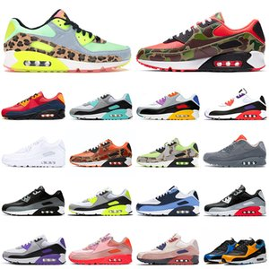 nike air max 90 airmax 90s Camo Premium SE koşu ayakkabı erkekler kadınlar erkek eğitmenler Spor açık Sneakers
