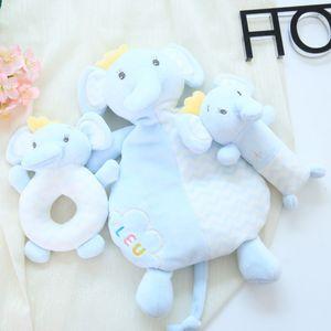 Bambino lenitivo tovagliolo del giocattolo della peluche bambola può essere morso per lenire bambino tovagliolo della saliva produttori usanza Giocattoli di peluche