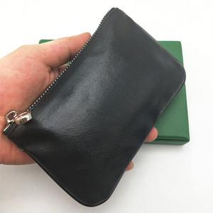 Francia estilo hombres mujeres picochette Moda monedero monedero monedero bolsa de llavero pequeño mini bolso de embrague bolsos bolsos monederos con caja