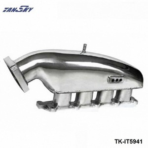 TANAKY - Engine Swap Turbo Intake Manifold For MITSUBISHI EVO 1-3 High Performance Polished TK-IT5941 adbf#