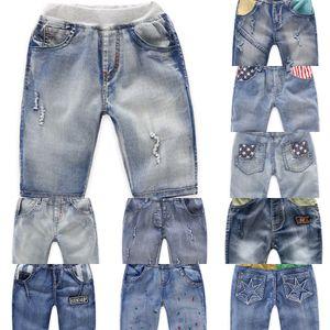 Jeans garçons Jeans Wear Shorts pour enfants pour enfants 2020 été nouveau style coréen de vêtements pour enfants