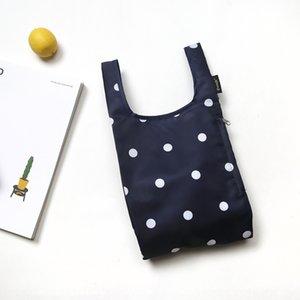 evpMq Polka dot protection de l'environnement commercial de sac portable portable petit pliant seule main hommesCravates couche et les femmes d