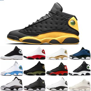 High Quality 13 Bred Chicago Flint Atmosphere Grey Men Women Basketball Shoes He Got Game Melo DMP Hyper Royal Sneakers runing
