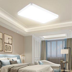 40CM 50CM 60CM 90CM Squre LED Ceiling Lights 110V With Remote controller White for Home Indoors Hotel