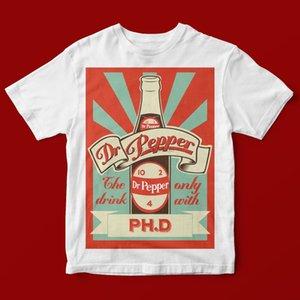 DR PEPPER PHD T-SHIRT UNISEX 706