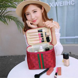 Makeup Bag Multifunction Lady Square Travel Tote Large Capacity Convenient Foldable Waterproof Makeup Washing Bag 2020