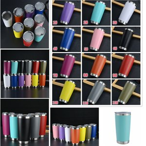 12styles 20oz Stainless Steel Tumbler Thermal Cup Insulated Coffee Beer Mug With Seal Lids Vacuum Wine Glass car drinkware FFA4149