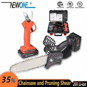 2.0 / 4.0 Akü XT2k # ile budama kesmek için Chainsaw NEWONE Elektrik Aracı Li-ion Şarjlı 800W Mini Testere Taşınabilir çakmak