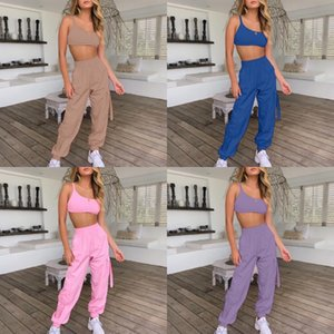 Women Candy Color Tracksuit Sports Two Piece Set Long Sleeve Hoodies Leggings Fashion Bodycon Pants Suit Fitness Outfits Plus Size 1041#973