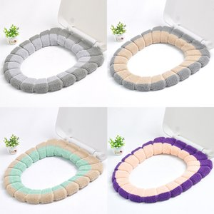 Toilet Accessories Universal Warm Soft Washable Toilet Seat Cover Mat for Home Decor Closes tool Mat Seat Case Toilet Lid Cover
