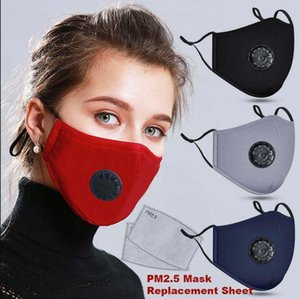 Reusable Designer Face Masks Black With Value Carbon Fliter Camouflage Anti Dust Cycling Protective Face Mask with one filter free FY0016