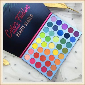 Newest makeup Palette Beauty Glazed Eyeshadow 39 Colors Eye Shadow Color Fusion Rainbow palette Matte Shimmer eyeshadow DHL free shipping