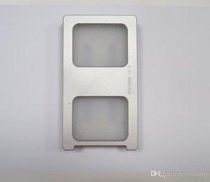 Ламинат Mechine Mold для iPhone X iPhone10 LCD и стекла позиционирования Выравнивание Нажатие металлической формы + Mat