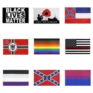 150cm * 90cm University of Wisconsin Badgers Bandiera UW Bucky Flag Banner 3 * 5FT poliestere personalizzato Hanging casa decorativo # 905