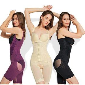 Corset's abdomen corset jumpsuit fatcorset body hip bra lift up Seamless bra light Women's