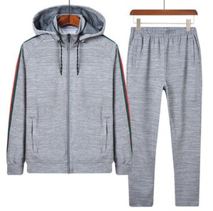 Men Women Fashion Hoodies Sweatshirts Running Tracksuits Man Tracksuit Sport Long Hoodies Pants Suits 2 Colors Optional