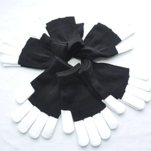 24cm large size adult foreigner knitted acrylic flash coat coat Gloves and gloves size