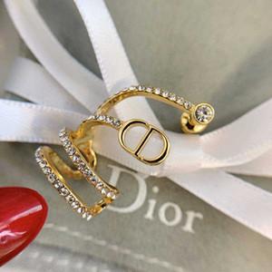 Designer Boucles d'oreilles de luxe Bijoux Femmes Mode Hommes Boucles d'oreilles Hip Hop Boucles Earings Glacé bling CZ Punk Rock Round cadeau de mariage