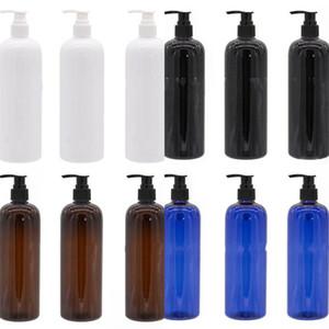 500 ml-Plastikflaschen Schraubenspindelpumpe Press Subpackage Becher Emulsion Pet Cup Hand Sanitizer Flüssigkeit Tassen Einfacher heißen Verkauf-2 3XA B2