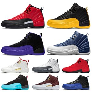 Nike Air Jordan Retro FIBA 12s Spiel Royal 12 Mens Basketballschuhgröße US 7-13 International Flight Michigan Sportschuhe Jumpman Turnschuhe Designer Trainer Mens