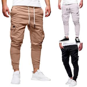Men Joggers Pants 2020 Autumn Mens Sweatpants Leisure Cotton Mens Joggers Casual Sweatpants Men's Workout Slim Fit Trousers#Y20