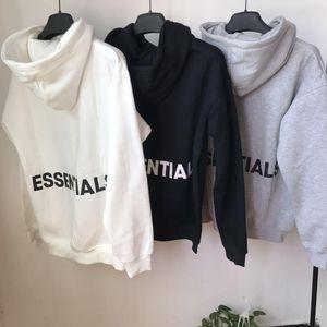 2020 3M Reflective Hooides Mens Winter Sweatshirts Men Hip Hop Streetwear Letter printing Fleece Hoody Man Clothing Essentials S-XL 9u mJD8#