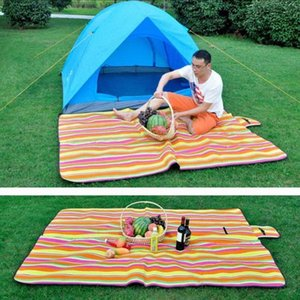 Acampa plegable estera del cojín del asiento manta impermeable al aire libre de la comida campestre del amortiguador 1872 #