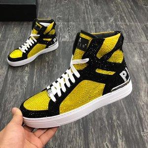 Erkekler Ayakkabı Sneakers Casual Nefes Rahatlık Moda Tenis Spor Eğitmenler Zapatos De Hombre Para Beast Merhaba -Top Erkek Ayakkabı Bilek Boots Luxur