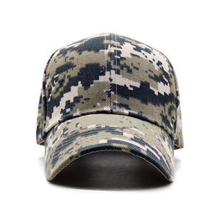 ACU Digital Men Baseball Caps Army Tactical Camouflage hat Outdoor Jungle Hunting Snapback Hat For Women Bone Dad Hat