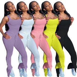 Womens designer 2piece set Tracksuit short sleeve shorts fashion summer Sports Suits Sportswear sexy women clothing klw4407