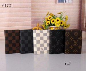 5 color card bags, wallets 2020 men's bags designer luxury handbags purses free shipping wallet 61721