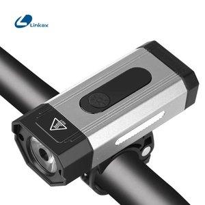 800 Lumens vélo léger USB rechargeable 2500mAh lumière de vélo IPX6 étanche 4 LED Modes d'éclairage pour phares Accessoires vélo
