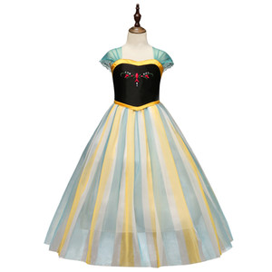 Fashion Dresses for the First Communion of Blue Dresses for Little Girls for Wedding and Evening Plus Size