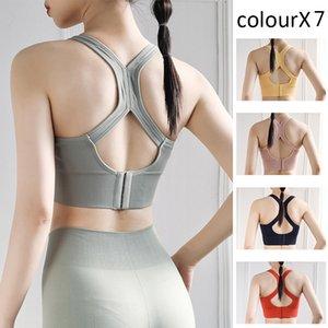 2020 Yoga chaleco de recolección de sujetador del sujetador de la aptitud profesional de las mujeres la ropa interior de los deportes de lucha contra el correr de entrenamiento superiores