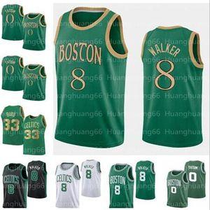 NCAA Men Kemba 8 Walker Jayson 0 Tatum jersey jerseys Jaylen 7 Brown 20 Hayward Larry 33 Bird Basketball 100% Stitched