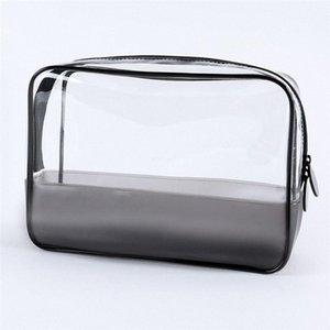 Environmental Protection PVC Ladies Makeup Storage Bags Transparent Women Cosmetic Bag Waterproof Plastic Travel Organizer Bag oWHo#
