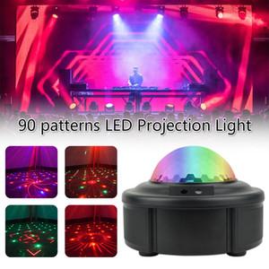 90 modelli di proiezione di RGB LED luce della discoteca AC110-240V rosso laser verde della lampada di illuminazione della fase spettacolo per il partito domestico KTV DJ Dance Floor
